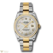 Rolex Oyster Perpetual Datejust Stainless Steel & Yellow Gold...