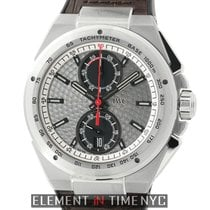 IWC Ingenieur Chronograph Steel 45mm Silver United States of America, New York, New York