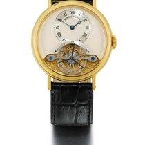 Breguet | A Fine yellow Gold Tourbillon Wristwatch Ref 3350 No...