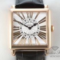 Franck Muller Master Square 6002 M QZ Rosegold 750 Damen...