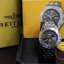 Breitling Galactic 41 A49350 Stainless Steel Box & Papers