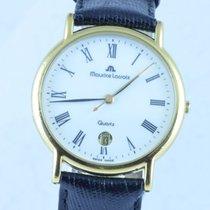 Maurice Lacroix Herren Uhr 34mm Stahl/gold Quartz Rar 2 Calypso 3