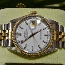 Rolex Datejust- Ref.: 16013 -Weißes Ziffernblatt - 1978