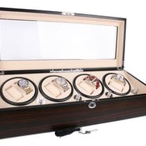 Axis Watch Winders Luxury Ebony Automatic 8 Watch Winder with...