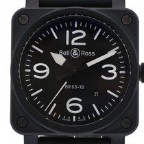 Bell & Ross BR0392-BL-CE Сталь BR 03-92 Ceramic 42mm новые