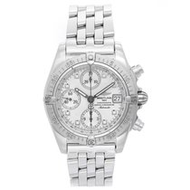 Breitling Chrono Cockpit Chronograph Men's Steel Watch A13357