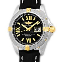 """Breitling """"Galactic 41"""" Strapwatch."""