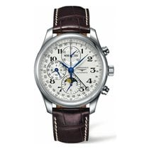 Longines Master Collection Chronograph Moonphase Day Date...