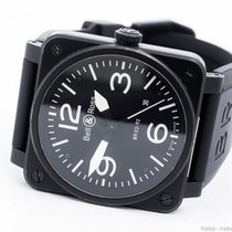 Bell & Ross AVIATION BR 03-92-S BLACK PVD/BOX&PAPERS