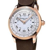 Frederique Constant Horological Smartwatch Goud/Staal 42mm Wit Arabisch Nederland, Den Haag