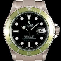 Rolex 16610LV Steel 2003 Submariner Date 40mm pre-owned United Kingdom, London