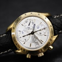 Omega Speedmaster Autmatic 39mm yellow gold with buckle 18Kt