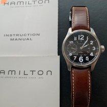 Hamilton Khaki Field Officer occasion 44mm Acier