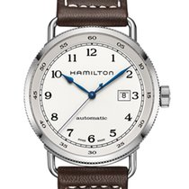 Hamilton Khaki Navy Pioneer new Automatic Watch with original box and original papers H77715553