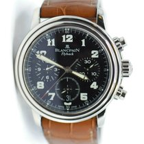 Blancpain Léman Fly-Back Steel 38mm Black Arabic numerals United States of America, New York, New York
