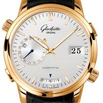Glashütte Original Senator Diary Rose gold 42mm Silver United States of America, Florida, Miami