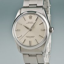 Rolex Oyster Perpetual 34 Steel 33mm Silver
