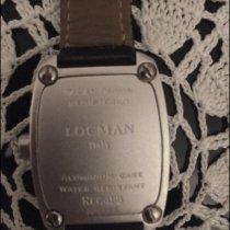 Locman Sport Tonneau Aluminum 38mm Black Arabic numerals