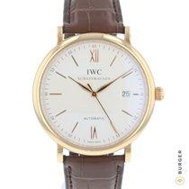 IWC Portofino Automatic nuevo Automático Reloj con estuche y documentos originales IW356504