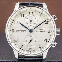 IWC Portuguese Chronograph Steel 40mm Silver Arabic numerals United States of America, Massachusetts, Boston