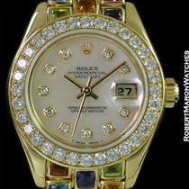 Rolex Tutti Frutti Pearlmaster 69298 18k One Of A Kind Rolex...