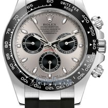 Rolex Cosmograph Daytona White Gold 116519LN Steel and Black...
