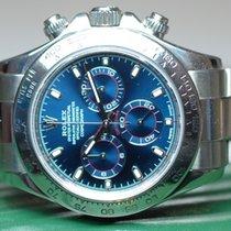 Rolex Daytona Whitegold Blue Dial