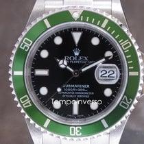 Ρολεξ (Rolex) Submariner Date green bezel Fat Four full set...