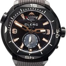 Clerc Çelik 48mm Otomatik GMT-2.3.3