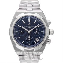 Vacheron Constantin Overseas Chronograph Acciaio 42.50mm Blu