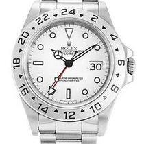 Rolex Explorer II Stainless Steel Bracelet Watch