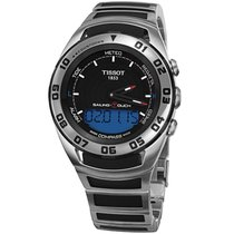 Tissot Sailing-Touch Stål 45mm Sort Ingen tal
