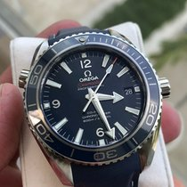 Omega Seamaster Planet Ocean pre-owned 42mm Titanium