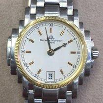 Baume & Mercier 34mm Quarzo 2000 usato Bianco