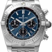 Breitling Chronomat Steel 44mm Blue United States of America, Iowa, Des Moines