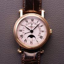 Patek Philippe Red gold Automatic White pre-owned Perpetual Calendar