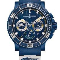 Ulysse Nardin Diver Black Sea new Watch with original box and original papers 353-98LE-3/ARTEMIS