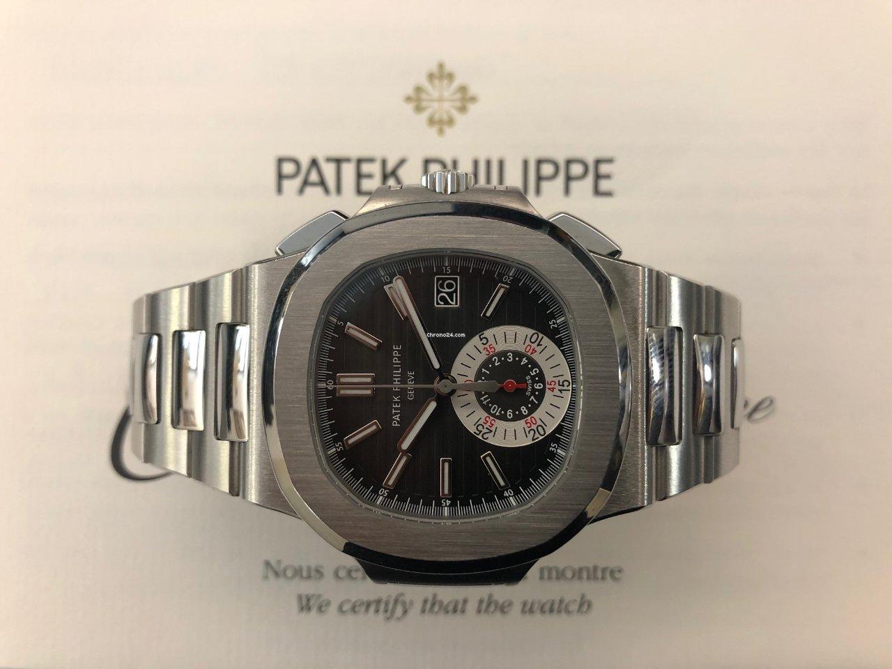 Patek Philippe Nautilus sælges for 761.410 kr af en Trusted Seller på Chrono24