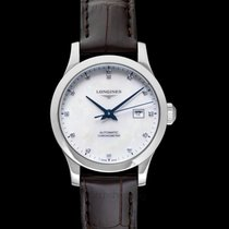 Longines Record Steel 30.00mm Mother of pearl United States of America, California, San Mateo