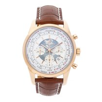 Breitling Transocean Chronograph Unitime Rose gold 46mm White No numerals United States of America, Pennsylvania, Bala Cynwyd