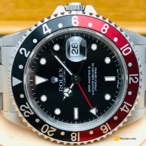 Rolex 16710 Staal 1995 GMT-Master II 40mm tweedehands