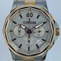 Corum Admiral's Cup Legend 42 Acero y oro 42mmmm Gris Sin cifras