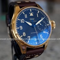 IWC Bronze Automatic Black Arabic numerals new Big Pilot
