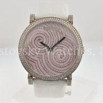 DeLaneau Roségold Handaufzug pink circle neu