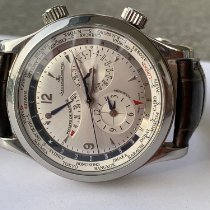 Jaeger-LeCoultre Master World Geographic Acero 41mm Plata