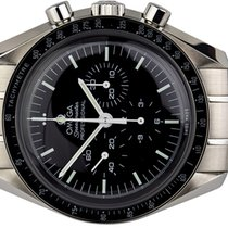 Omega Steel Manual winding Black No numerals 42,00mm new Speedmaster Professional Moonwatch