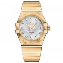 Omega Constellation Ladies 123.50.35.20.52.002 новые