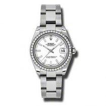 Rolex Lady-Datejust nuevo Reloj con estuche y documentos originales 178384 WIO