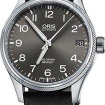Oris Big Crown ProPilot Date Steel 41mm Grey Arabic numerals United States of America, California, Moorpark