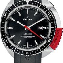 Edox Stal 46mm Kwarcowy 53200-3NRCA-NIN nowość